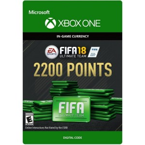 FIFA 18 Ultimate Team 2200 FIFA Points Digital (Código) / Xbox One